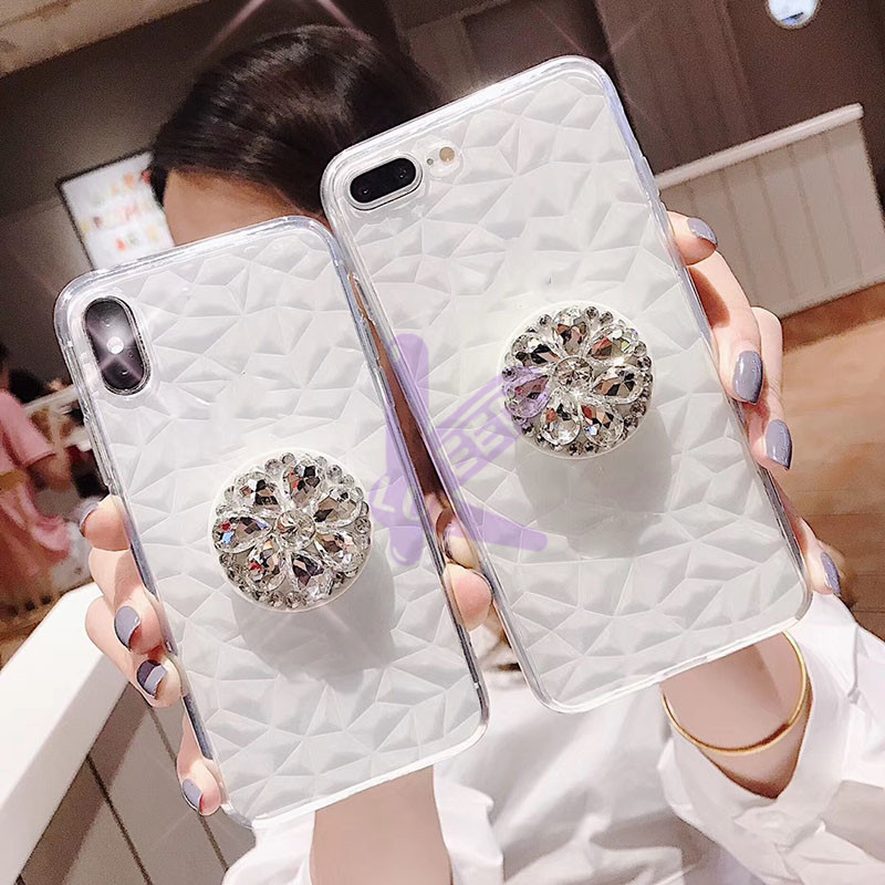 Diamond Case For Samsung Galaxy A2 A3 A5 A6 A7 A8 A9 A10 A30 A40 A50 A70 A8s J2 Core J3 J5 J7 Grand Prime Note 8 9 Bracket Cover image