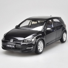 Car-Model Toys Diecast GOLF Authentic 1:18 Original Gift-Collection Factory New for Black