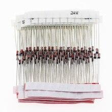 150 шт./лот 1/2W зенеровский диод 3V-30V 15 значений Ассортимент Комплект для электронных DIY Kit