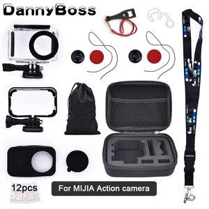 Image 1 - Voor Mijia Accessoires Kits 45M Waterdichte Behuizing Case Bescherming Case Voor Xiaomi Mijia 4K Action Camera