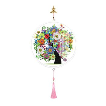 Special Shape Diamond Painting Tassels Pendant Partial Drills Painting Wall фото