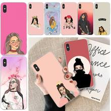 LJHYDFCNB Cartoon girl Customer High Quality Phone Case For iphone 6 6s plus 7 8 plus X XS XR XS MAX 11 11 pro 11 Pro Max Cover byloving gintama anime customer high quality phone case for iphone 6 6s plus 7 8 plus x xs xr xs max 11 11 pro 11 pro max cover