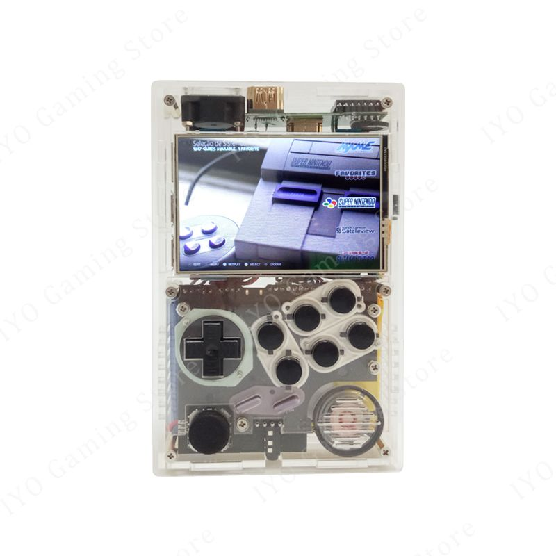 3.5 Inch Screen Video Game Consoles Up Pi HDMI Output Raspberry Pi 3 B Recalbox Handheld Retro Game Player 14000 Games