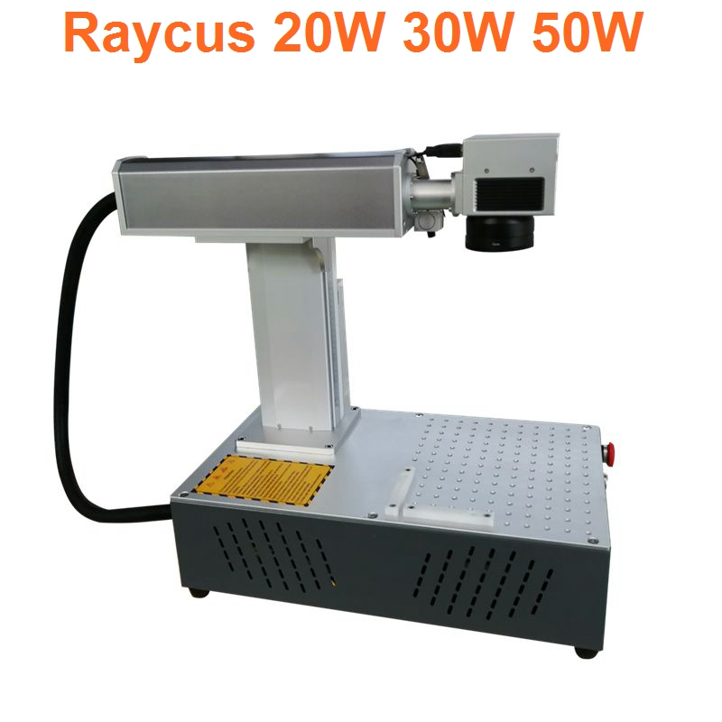 Raycus 30W 20W 150 150mm Split Fiber Laser Marking Machine Metal Marking Machine Laser Engraving Machine Nameplate Laser Marker in Wood Routers from Tools