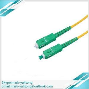 Image 4 - 10pcs כבל fibra אופטיקה SC / APC SC / APC SM ftth סיבי כבל 1 m, 2 m, 3 m, 5 m, 10 m 20m sc sc apc