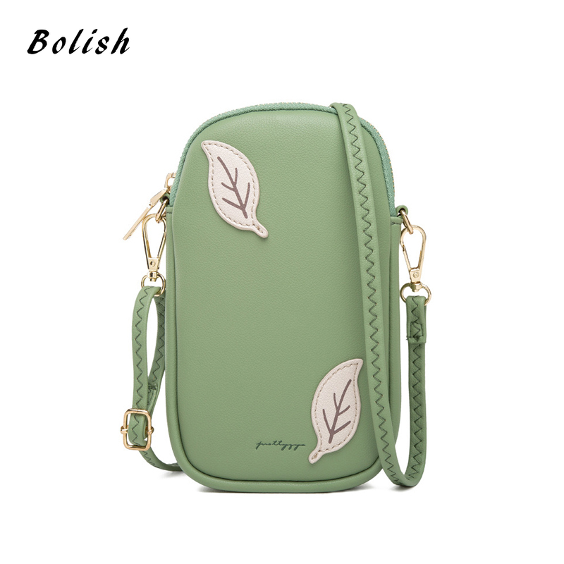 Small Cell Phone Purse Mini Shoulder Messenger Bag Women Female Crossbody Purse Phone Pouch Crossbody Wallet Bag For Ladies
