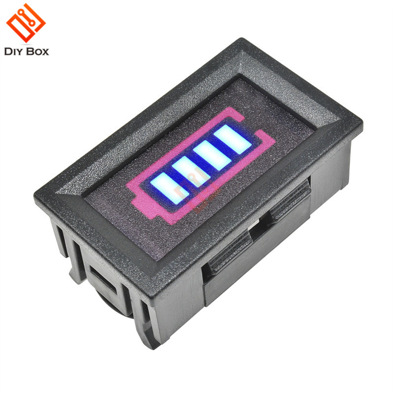 BMS 3S 18650 Lithium Battery Capacity Indicator Display With Shell Box Protect Cover 12.6V Power Test Battery Charger Accessory