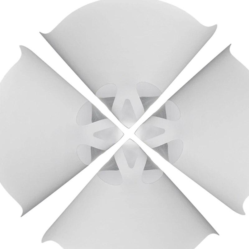 impressora 3d papel branco engrossar funis de filtro 05