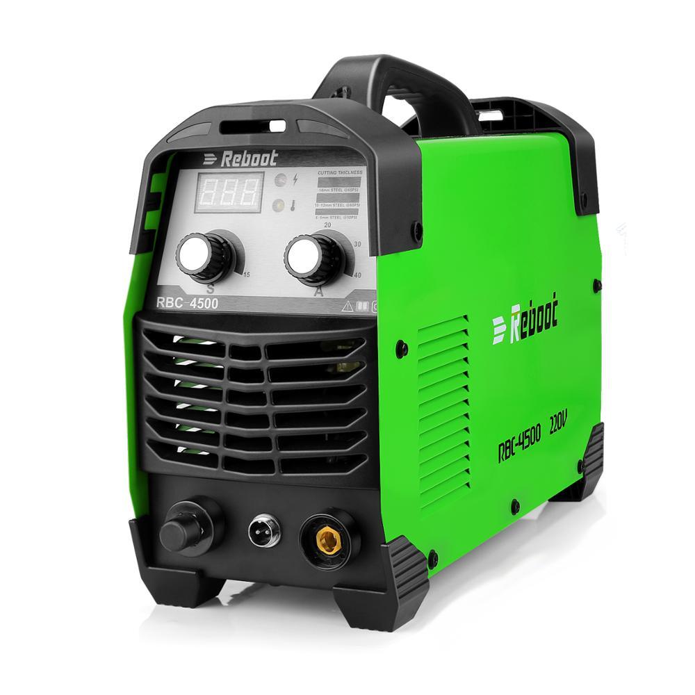 Reboot Plasma Cutter CUT45 Air Plasma cutter 220V 45 Amps clean cutting Inverter Cutting Machine
