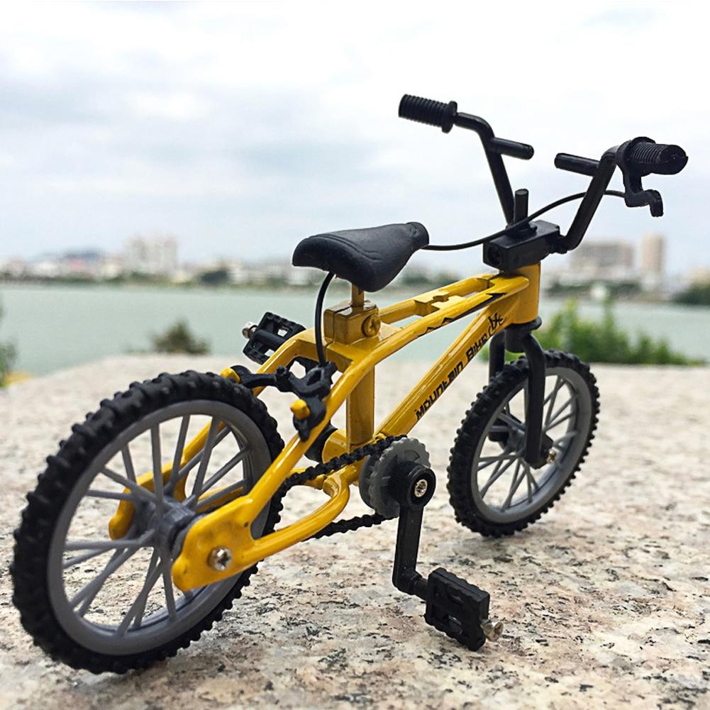 1 PCS Finger Alloy Bicycle Model Mini BMX Bike Boys Toy Creative Game Gift Bikes Mountain Bicycles Model Toys For Children