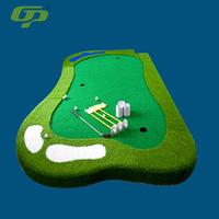 GP Golf Putter Green Indoors And Outdoors Mini Golf Model Green Slope Putting Practice