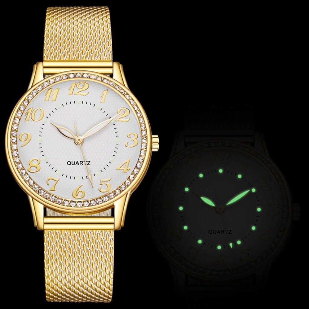 Relogio Feminino Luxury diamond Watches Quartz Watch Stainless Steel Dial Casual Ladies Watch Women Wristwatch Zegarek Damski W3