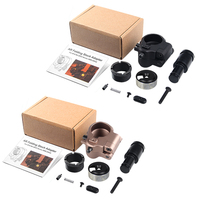 Tactical AR Folding Stock Adapter Airsoft Hunting Accessory For M16/M4 SR25 Series GBB(AEG) HT2 0042