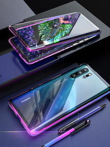 Luxury Full Body Protective Magnetic Case For Huawei P30 Pro P20 Mate 20 Pro 360 Tempered