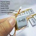2020 baterías nuevas batería de polímero de litio 3,7 V, 600 602535 se puede personalizar al por mayor certificación de calidad CE FCC ROHS MSDS