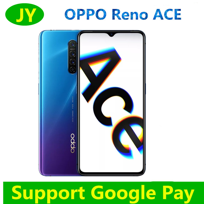 New Oppo Reno Ace 4G LTE Mobile Phone Snapdragon 855 Plus 90HZ display AMOLED 8G RAM 128G ROM 65W Super VOOC Smart phone(China)