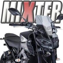 Esporte da motocicleta Touring MT09 Windshield WindScreen Deflector de Vento Para Yamaha 2017 2018 2019 2020 MT-09 FZ-09 FZ09 MT 09 '17-'20