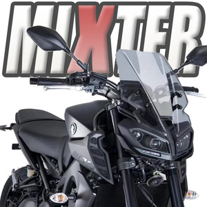 Motorcycle Sport Touring Windshield WindScreen Wind Deflector For Yamaha MT09 2017 2018 2019 2020 MT-09 FZ-09 FZ09 MT 09 '17-'20