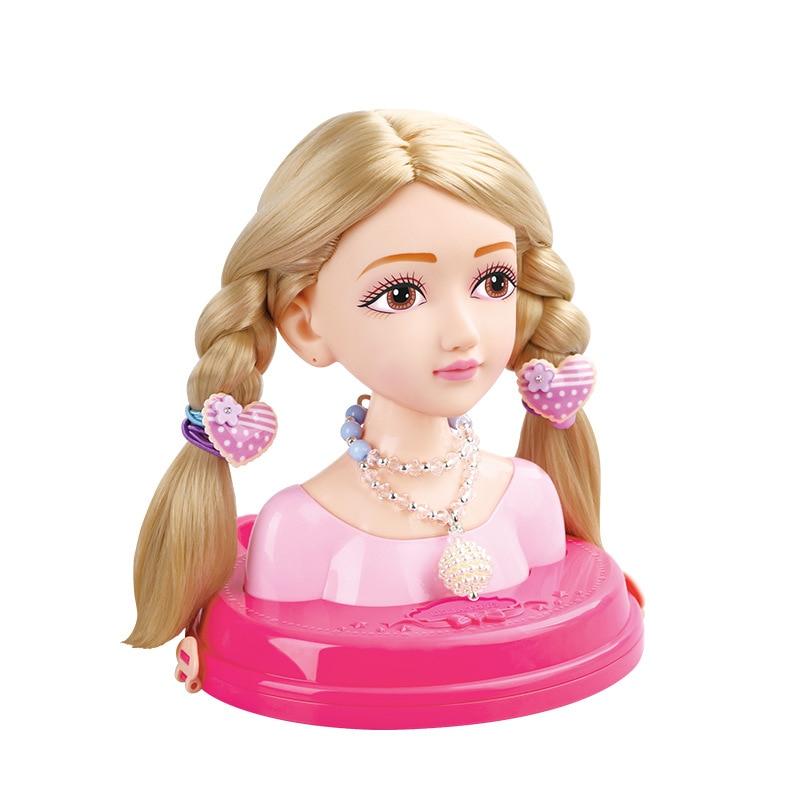 Styliste de cheveux de mode, peigne de pratique, fille de scorpion de cravate, poupée de maquillage, poupées de jouet de maison de jeu pour la poupée de blythe de filles