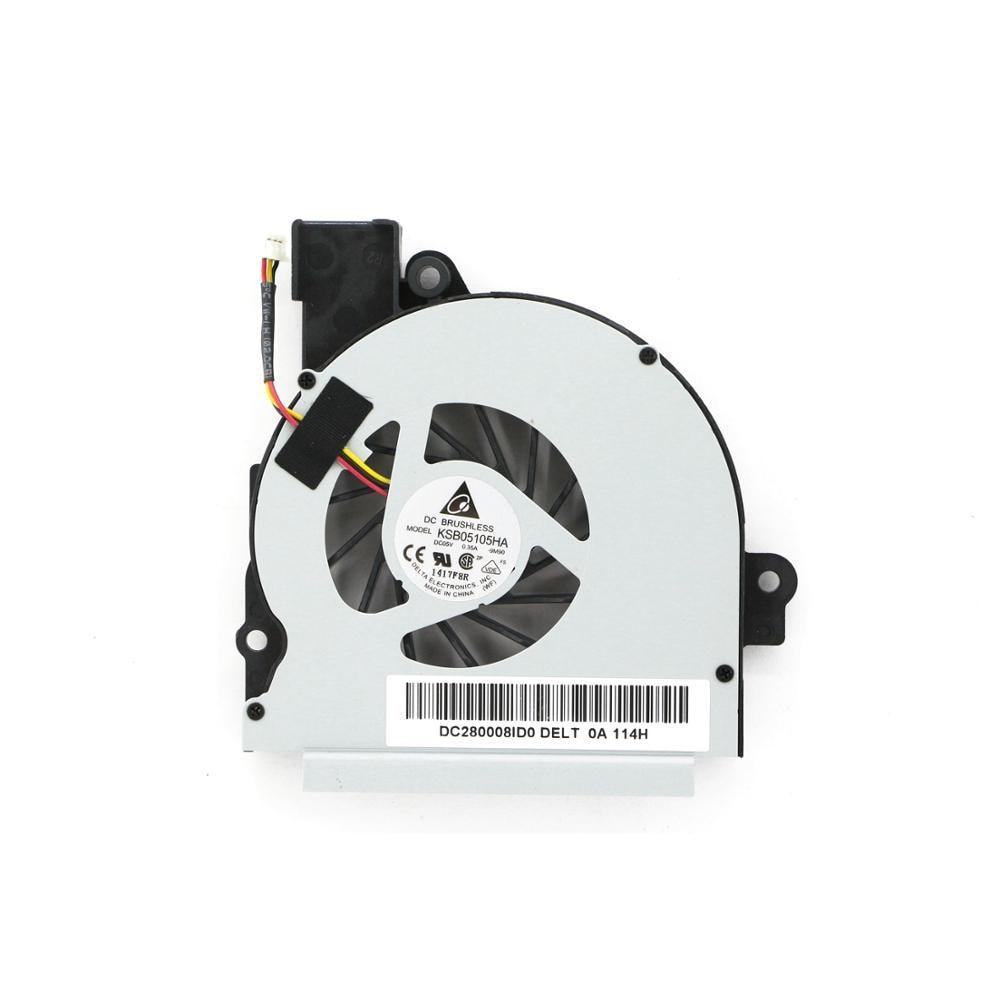 K000100300 Genuine New Laptop Cooling Fan DC280008ID0 KSB05105HA DC05V 0.35A For Toshiba Satellite M640 M640-ST2N03