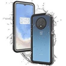 Für OnePlus 7 T Fall IP68 Wasserdichte 360 Grad Schützende Wasserdichte Staubdicht Rüstung Abdeckung Für One Plus 7 T 1 + 7 T Fall Unterwasser