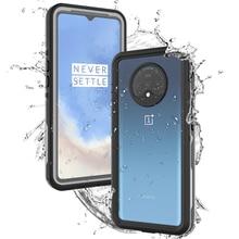 Per OnePlus 7 T Caso IP68 Impermeabile 360 Gradi di Protezione Antipolvere Impermeabile Armatura Della Copertura Per Un Più di 7 T 1 + 7 T Custodia Subacquea