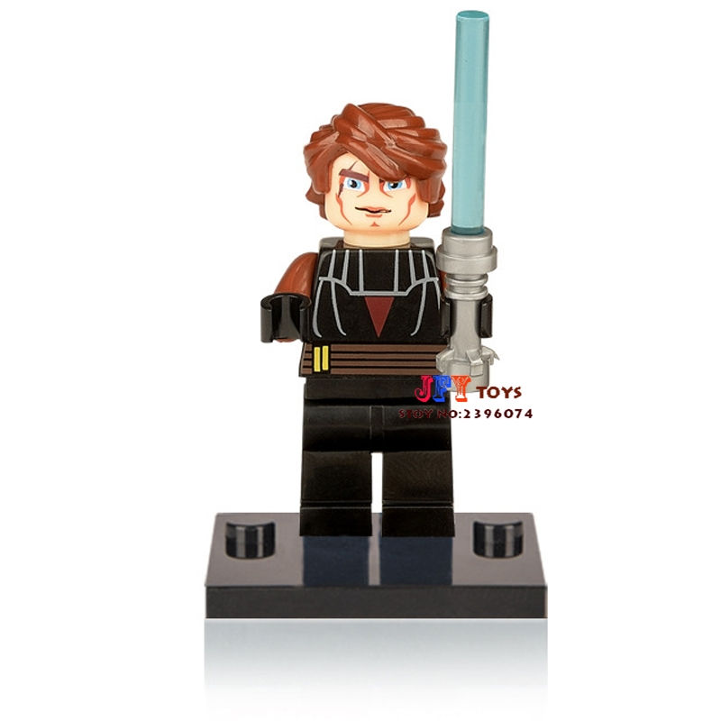 Single Sale Superhero Anakin Building Blocks Model Bricks Toys For Children Action Figures
