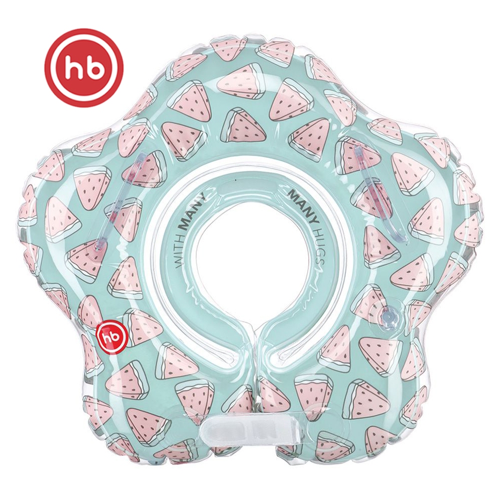 Accessories Happy Baby 121007 rubber ring a circle for swimming baby accessories pineapple Yellow happy baby swimming turtles 331843