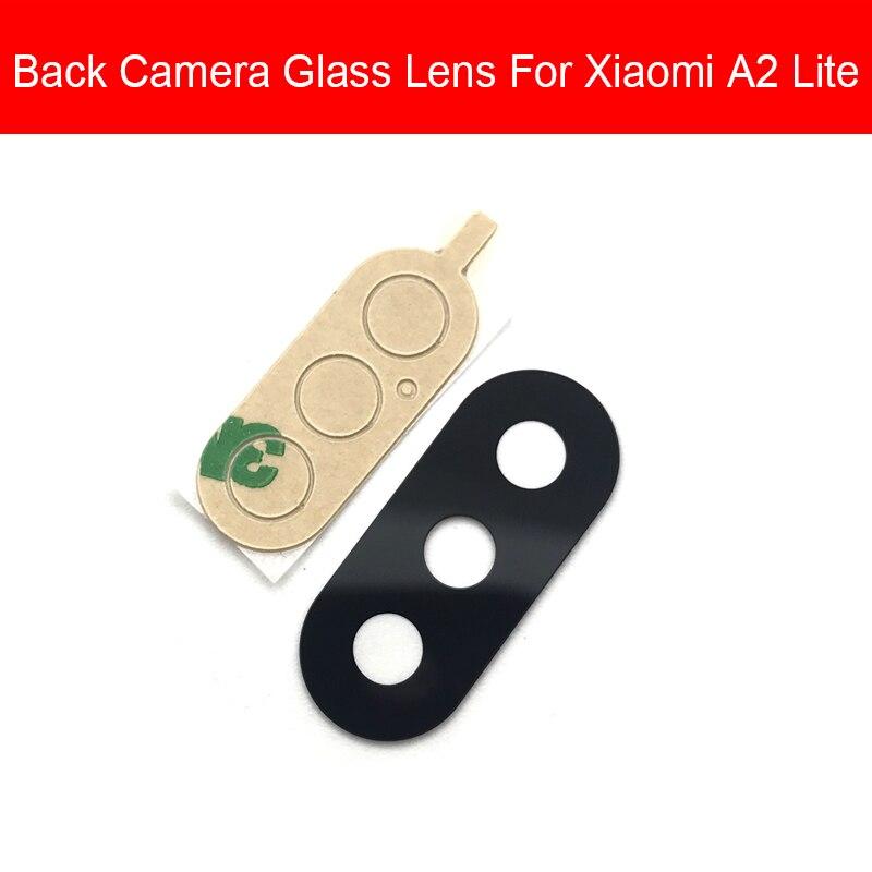 Rear Camera Glass Lens For Xiaomi Redmi Mi A2 6 Pro Lite Back Camera Glass Lens Cover Glass Lens Replacement Repair Parts