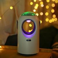 Behogar Muggen Killer Licht Draagbare Elektrische Led Muggen Killer Lamp Val Met Sterrenhemel Ster Projector Functie Voor Thuis