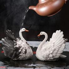 Счастливая настольное украшение Чай ПЭТ фильтр мешок висит ремесло