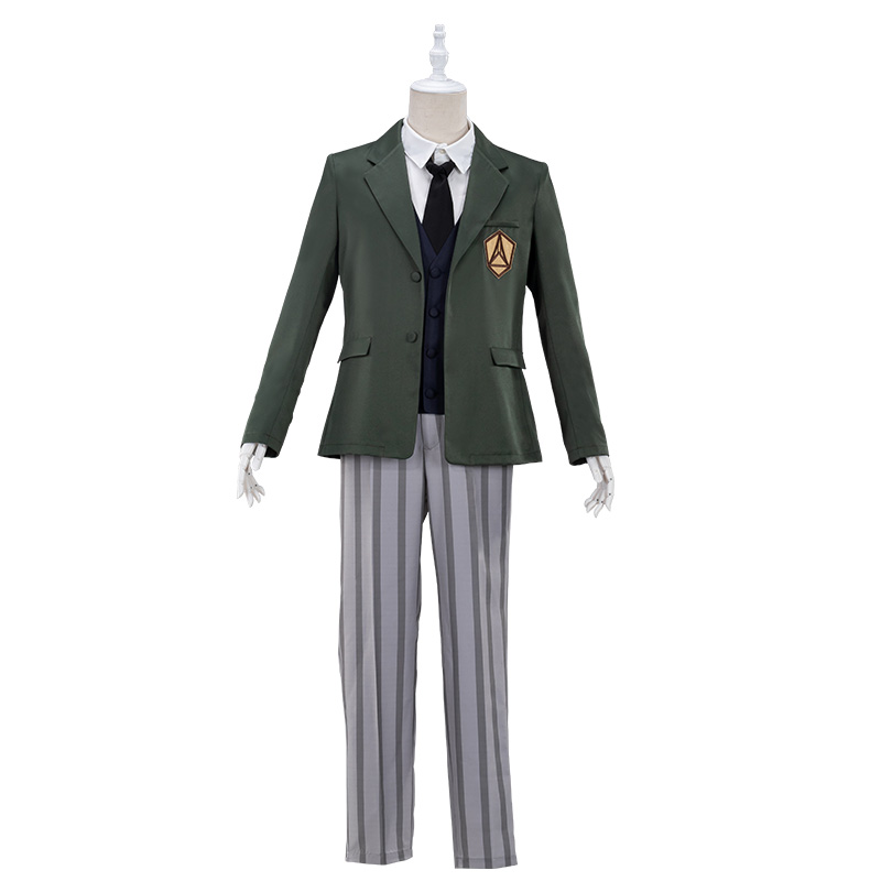 Image 3 - UWOWO Anime Beastars Legosi Cosplay Costume Uniform Cool Suit Grey Wolf CostumeAnime Costumes   -