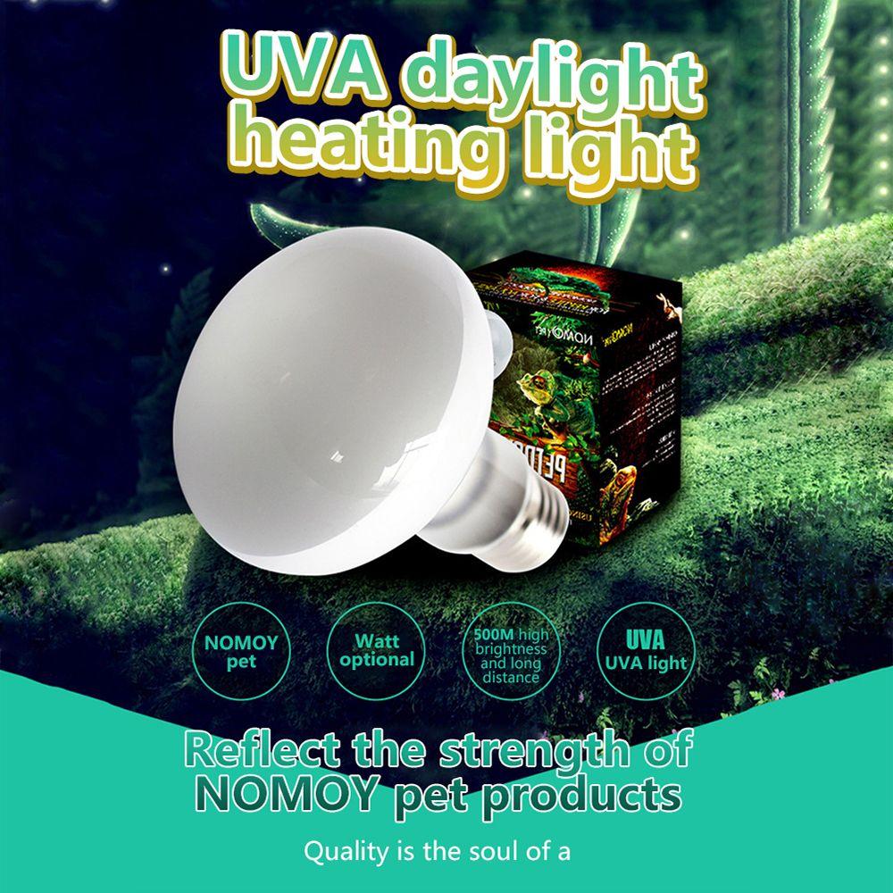 E27 220V 25/50/75/100W Reptile Lizard Turtle Basking Light Heat Lamp Heater UVB/UVA Halogen Bulb Temperature Controller