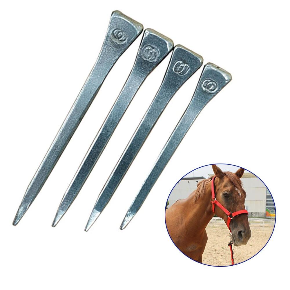 100pcs High Quality Horseshoe Nails E2 E3 E4 E5 Equestrian Sport Equipment For Horse