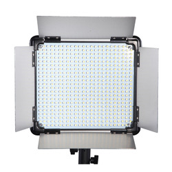 DHL Free 1 pc Brand Dison Photography LED Lamp light LCD Screen RC E-528II 40W 1500 Lumen video light Studio led video Lighting
