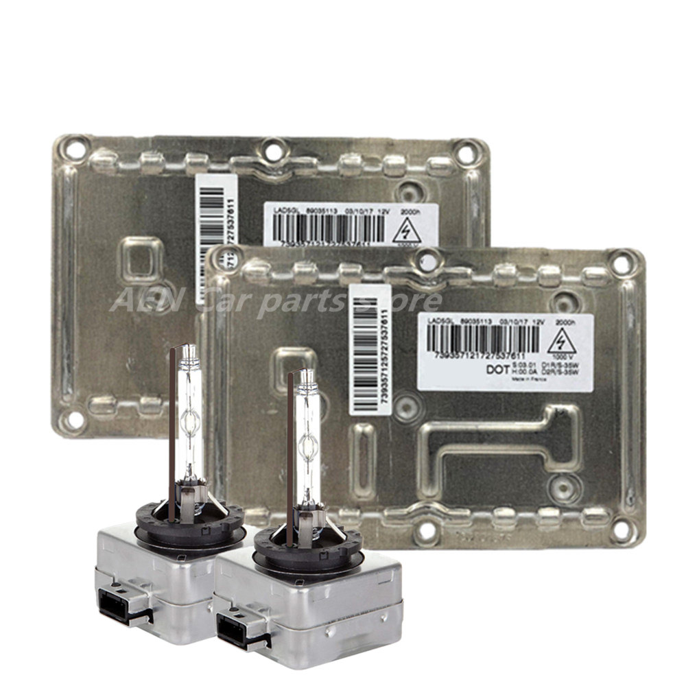 New OEM <font><b>D1S</b></font> 35W Ballast Kit <font><b>Xenon</b></font> <font><b>D1S</b></font> <font><b>Xenon</b></font> Headlight Ballast <font><b>6000K</b></font> Car Lights for Cadillac SRX CTS Audi 89024736 image