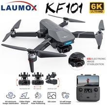 LAUMOX KF101 GPS Drone 4K HD Kamera mit 3-Achse EIS Anti-Shake Gimbal Profesional Quadcopter Bürstenlosen wiFi FPV Eders