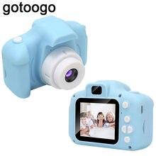 Kids Digital 1080P HD Screen Video Camera Toys 8 Million Pixel Waterproof 2.0 Inch Color Display Children Baby Birthday Gift