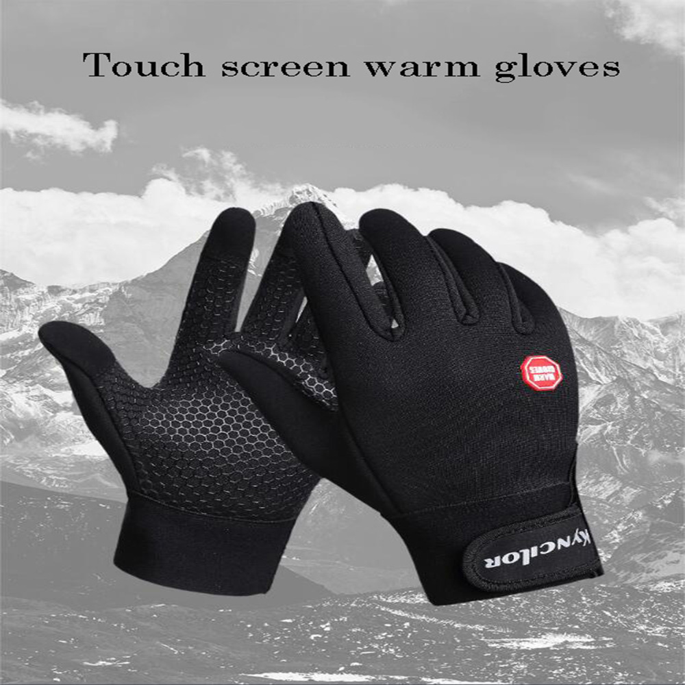 Outdoor Male Female With The Touch Screen Winter Warm Ski Riding Windshield Multifunctional Gloves