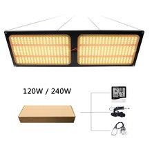 120 Вт 240 Светодиодный свет растет qb288 samsung lm301b / lm561c
