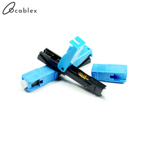 Image 2 - High Quality Quick Connector FTTH SC UPC Optical fiber covered wire SC UPC FTTH Fiber Optic Fast Connector SC Connector