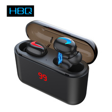 HBQ Q32 TWS Wireless Bluetooth Hands-free Headphones Sports