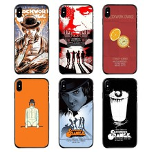 Untuk iPhone 4 4S 5 5S 5 5C Se 6 6S 7 7 Plus X XR X Max IPod Touch 4 5 6 Keras Ponsel Case Kulit A Clockwork Orange Poster Film Cetak(China)