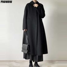 Новинка 2020 женское модное шерстяное пальто цельная Корейская