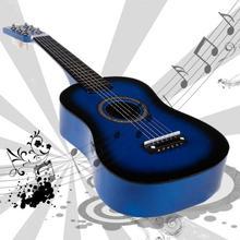 "Fun 6 strings 23"" musical teaching instruments kids guitar kids toys student guitar ukulele acoustic guitar"