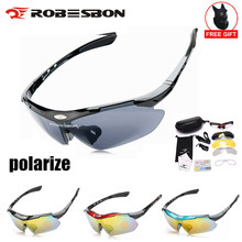 3 Lens Polarized Cycling Goggles Eyewears Uv400 Outdoor Sports Mountain Bicycle Glasses Running Mtb Fishing Sunglasses Men Women