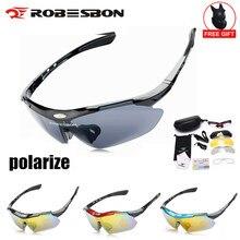 Occhiali da ciclismo polarizzati a 3 lenti occhiali Uv400 occhiali da Mountain bike fotocromatici da corsa occhiali da sole da pesca Mtb uomo donna