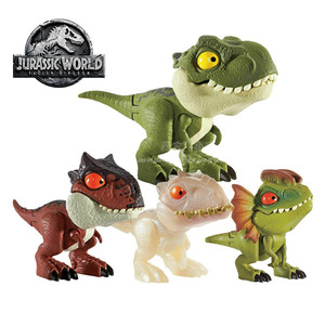 Image 2 - Jurassic World Dinosaur Toy Minifingers Action Figure Move Joints Toys for Children Gift Dinosaurs Model Collection Anime Figure