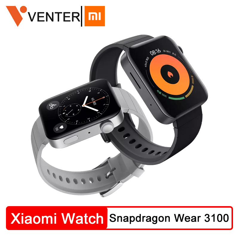 Xiaomi MI Smart Watch GPS NFC WIFI ESIM PhoneCall Bracelet Android Wristwatch Sport Bluetooth Fitness Heart Rate Monitor Tracker image