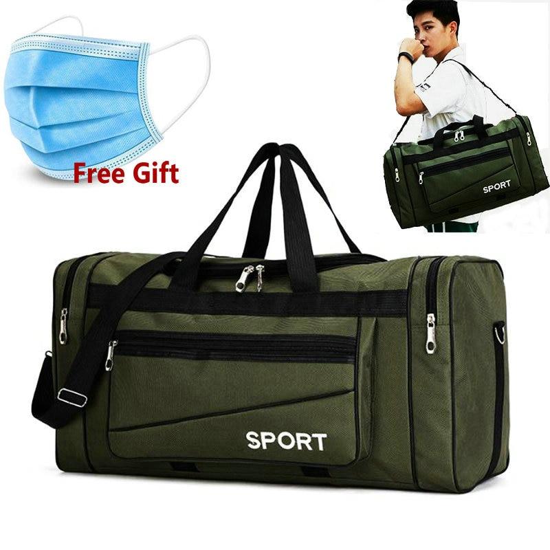 Big Sports Duffel Bag Men Gym Bags Training Sac De Sport Travel Gymtas Oxford Waterproof Sport Gym Handbag Travel Luggage Bags